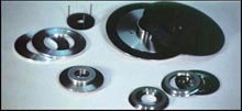 Flanges for precision dicing